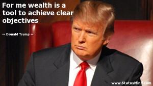 Verwandte Suchanfragen zu Donald trump quotes on wealth