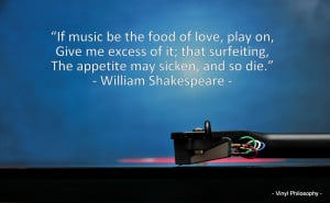 William Shakespeare, Twelfth Night - Music Quote