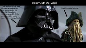 Wars Birthday Happy Star