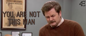 Reasons Georgetown Students are NOT Ron Swanson