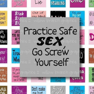 Silly, Fun and Sassy Saying and Quotes - Digital Collage Sheet - 1 ...