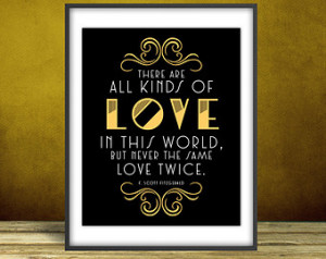- The Great Ga tsby Quote Print, Printable art wall decor, Quote ...