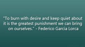 Federico Garcia Lorca Quote