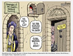 Global Warming Deniers claim that Global Warming is a hoax/fraud/scam.