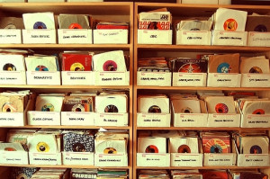 Music record collection