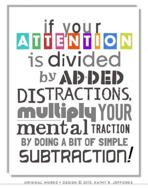 ... Pay Attention Sign. Math Poster. Gift For Math Teacher Or Math Nerd