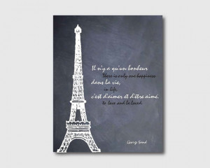 Eiffel Tower - Paris, France - 8 x 10 print - Wall Art - Room Decor ...