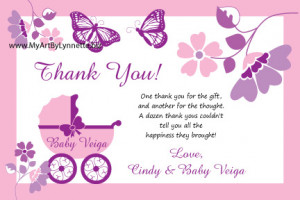 Monarch Butterfly Buggy Baby Shower invitation