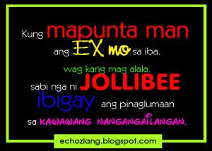 Tagalog Quotes Patama Sa Ex Kung mapunta man ang ex mo sa