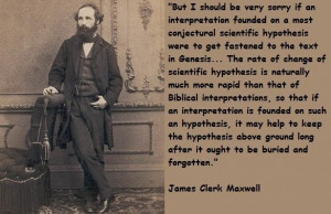 James clerk maxwell famous quotes 2