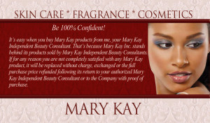 Mary Kay Quotes On Beauty Mary kay business cards