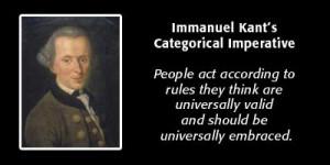 Block Arguments Against Immanuel Kant's Categorical Imperative