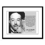 de Broglie: Quantum Waves Large Framed Print