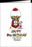 Happy Birthday 8th Birthday Godson - Eighth Birthday, 8 card - Product ...