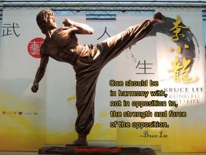 Bruce Lee Martial Arts Motivational Quotes