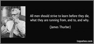 More James Thurber Quotes
