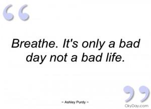 breathe ashley purdy