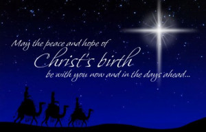 Merry Christmas! - Celebrating Christ's Birth - Vintage & Rule 5 Style