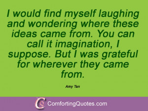 Quotes And Sayings From Amy Tan