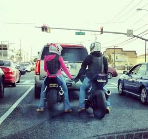 Motorcycle Sportbike Rider...