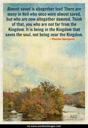 Quotes by charles spurgeon