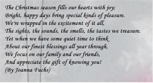 The Lovely Christmas Poems For Friends With The Christmas Atmosphere ...