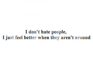 hate people tumblr