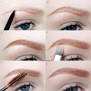Eyebrow Routine Pictorial
