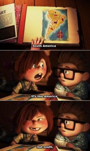 disney movie up, funny quotes