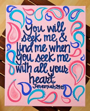 Custom Scripture or Quote Painting - 16