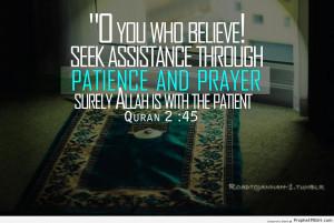 Islamic Prayer...