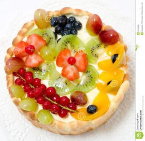 Berry Fruit Cakes Stock...