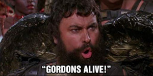 Famous quote from Brian Blessed playing Prince Vultan in Flash Gordon ...