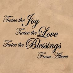 the blessings more boys twin twin baby twin pregnancy quotes twin ...