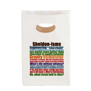 ... Bang Gifts > Big Bang Bags & Totes > Sheldon Quotes Canvas Lunch Tote