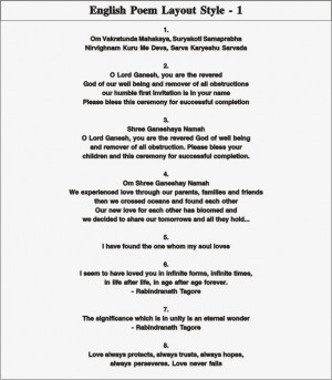 poem layout 1 english poem layout 2 english poem layout 3 english poem ...