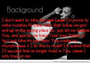 Background Lyrics Lecrae