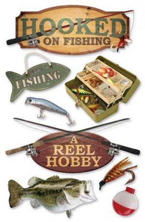 Hooked Fishing Scrapbooking