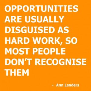 Hard Work Change Life