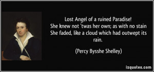 Paradise Lost Love Quotes