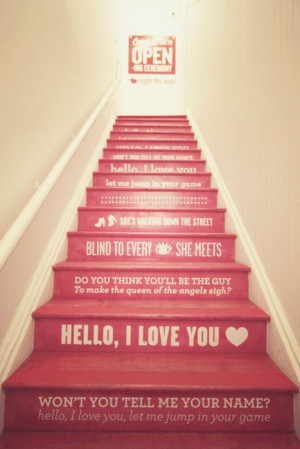 song stairs - I've been wanting to paint my entryway stairs but was ...