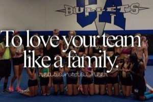 To Love Your Team Like A Family