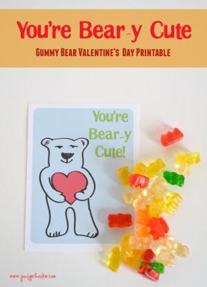 Cute Gummy Bear Sayings Gummi bears: