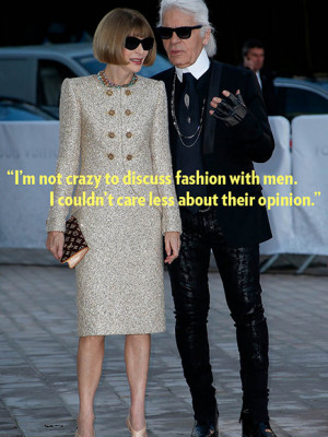 The Godfather of fashion has very strong feelings about smelly ...