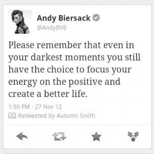 22) andy biersack quotes | Tumblr | We Heart It