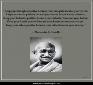 Gandhi famous quo...