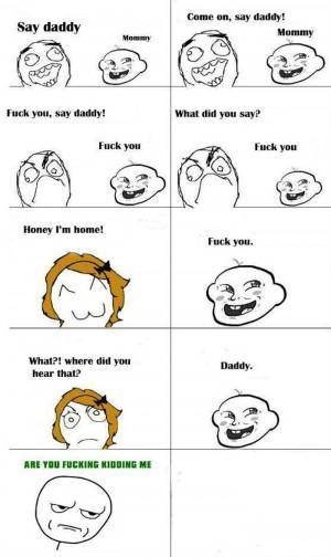 Troll Face Funny Kid