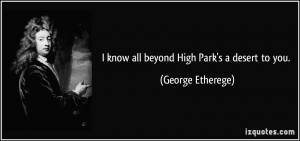 More George Etherege Quotes