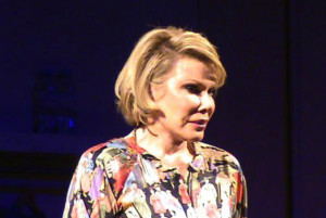 Joan Rivers says Obama is gay and First Lady is a tranny