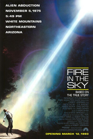 FIRE IN THE SKY POSTER ]